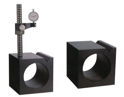 Granite Block for checking perpendicularity and parallelism , V groove for cylinder