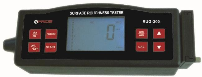 Surface Roughness Tester compatible with ISO, DIN, ANSI and JIS standards