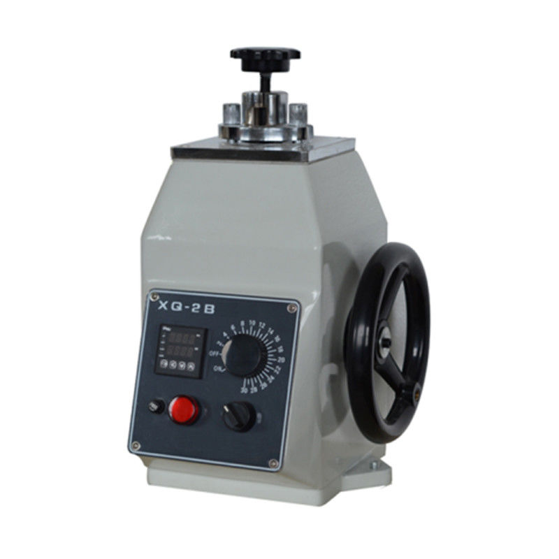 110V / 60Hz Metallographic Equipment For Thermohardening Plastic Pressing